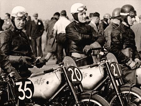 Dunholme Lodge Airfield, 1947, 100-Mile Hutchinson Race